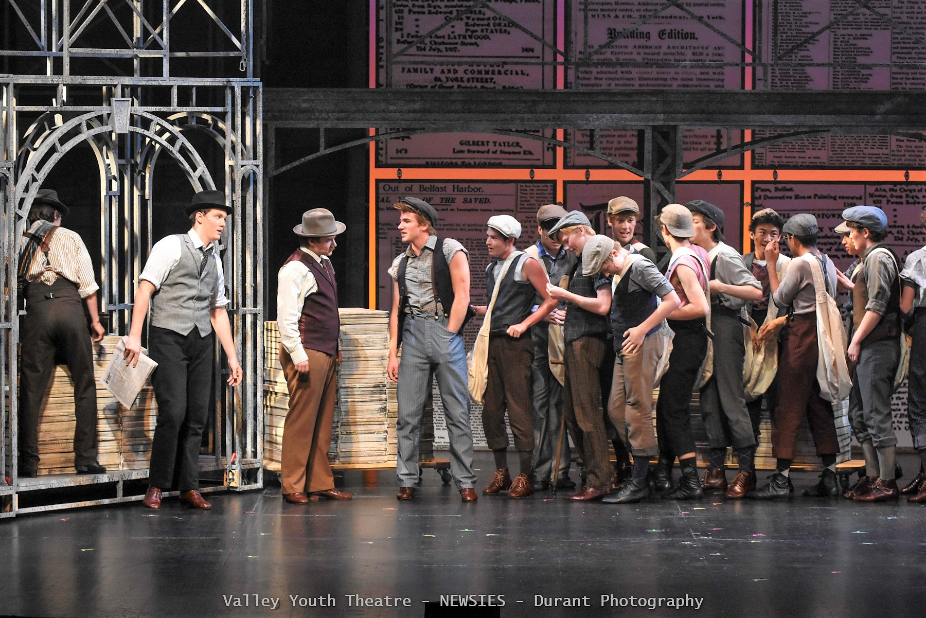 "Valley Youth Theatre ""Newsies"""